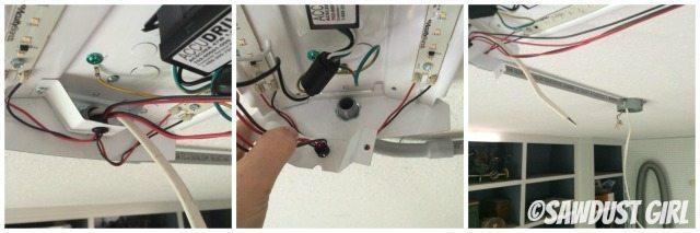 Installing additional shop lights