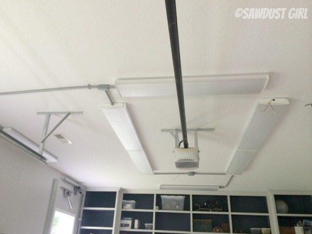 installing led shop lights sawdust girl