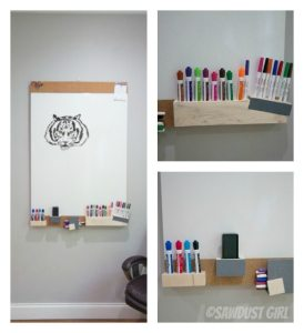 DIY Whiteboard #fun #quirky #easy #cheap