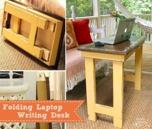 Writing Table DIY