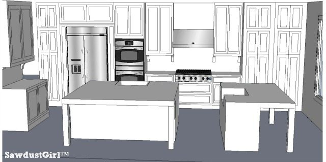 Kitchen Design Ideas - https://sawdustgirl.com/