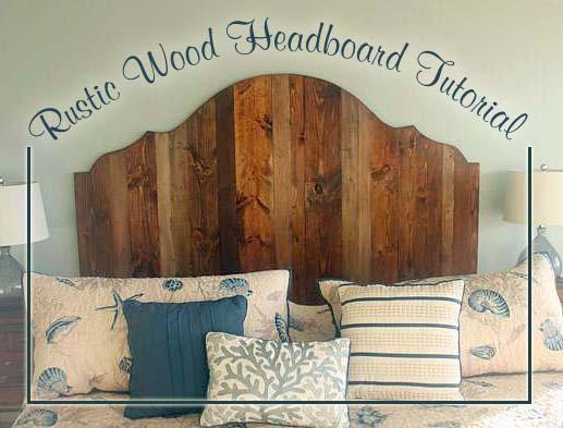 Wood headboard ideas