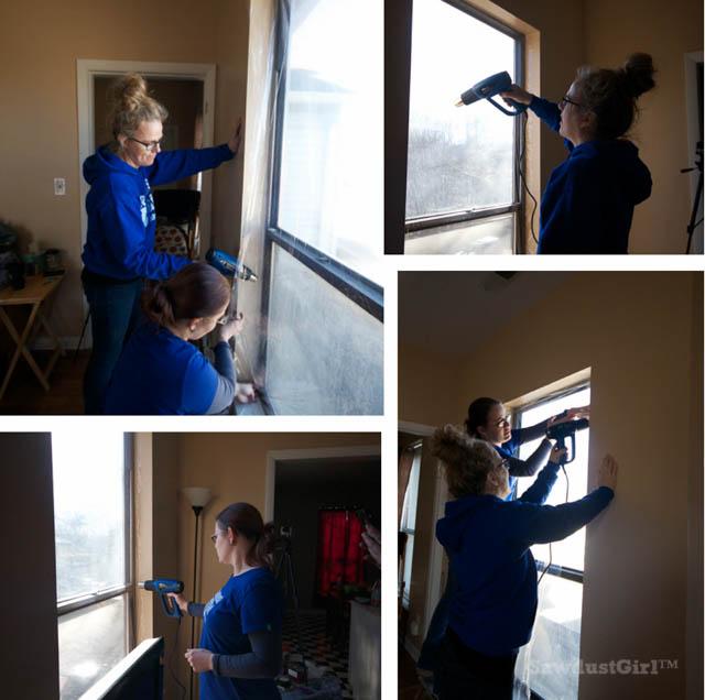 Winterize with Window Shrink