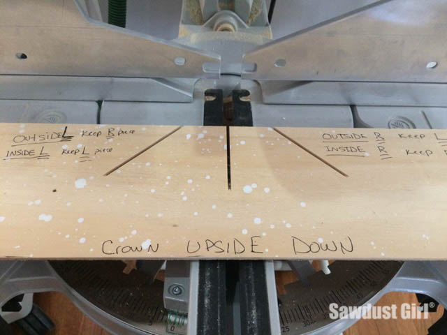 DIY Crown Stop and Cutting Guide