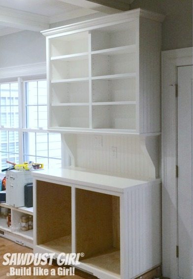 China Hutch with crown moulding