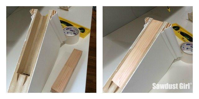 Easy DIY Corbels