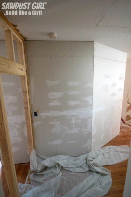Building a new pantry