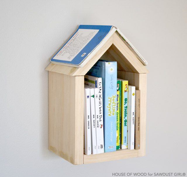 DIY bookshelf plans