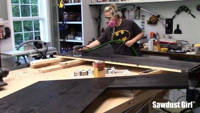 How to finish wood with tung oil.