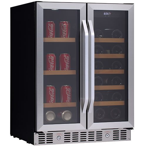 "24"" built-in beverage refrigerator"