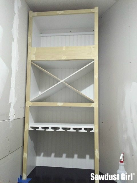 Wine storage cabinet - part 2.