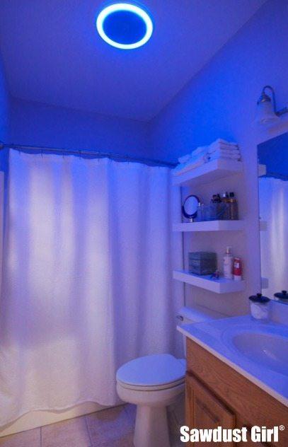 Bathroom Exhaust Fan With Light 100 Cfm