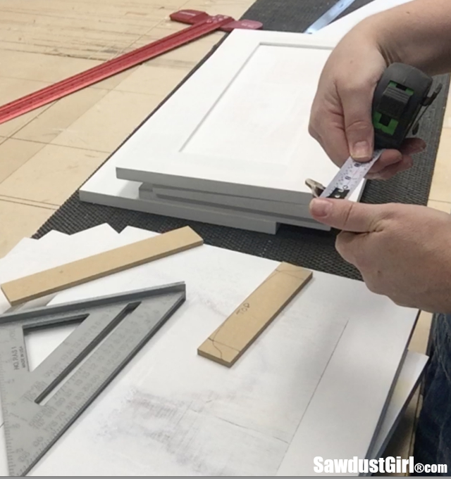 How to create a custom drawer pull template
