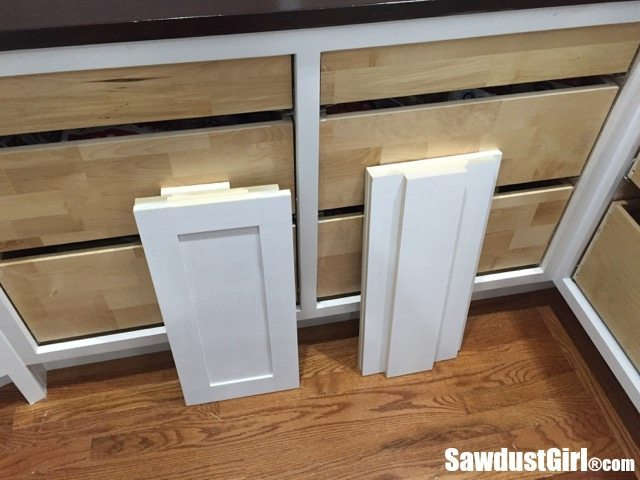 Building Drawer Fronts