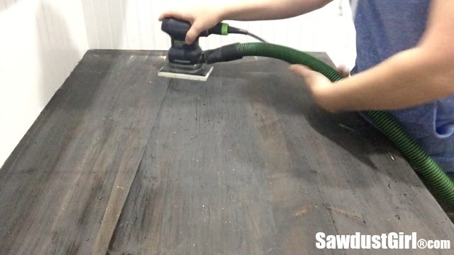 How NOT to Refinish a Wood Countertop