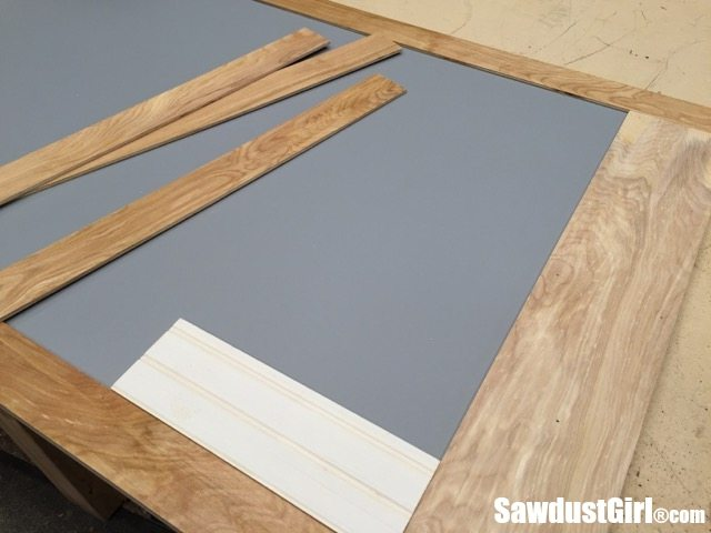 Building Sliding Doors for Cabinets