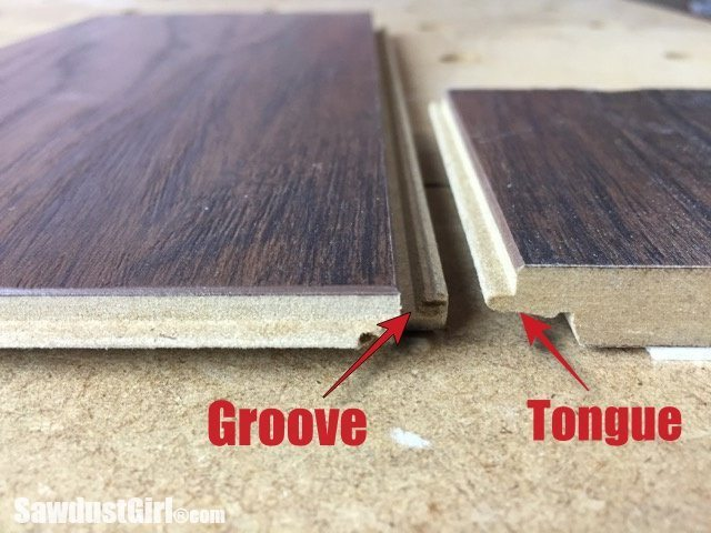 Pergo Laminate Flooring in Recording Studio