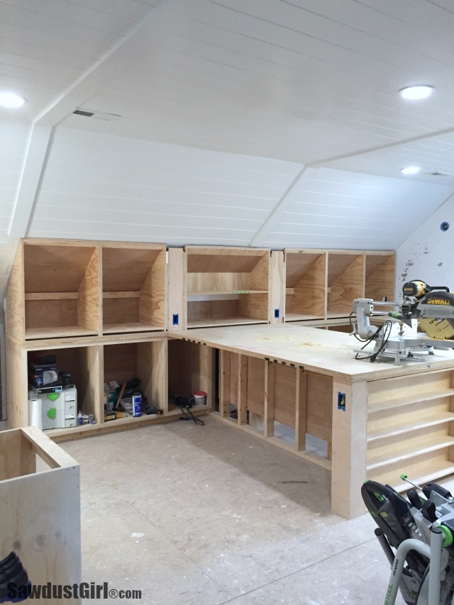 Building Angled Cabinets Sawdust Girl 174