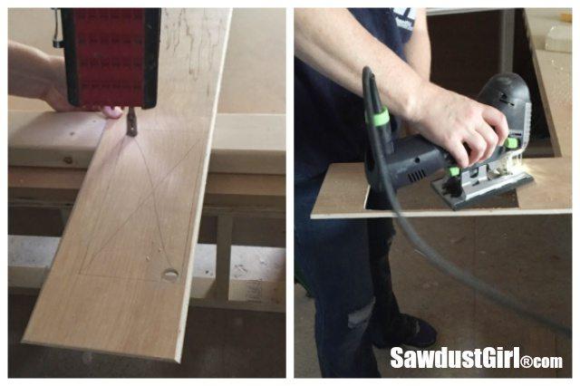 Installing a DIY Plywood V-Groove Plank Ceiling Jigsaw