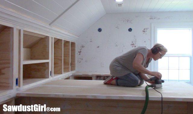 Sanding Countertops before painting
