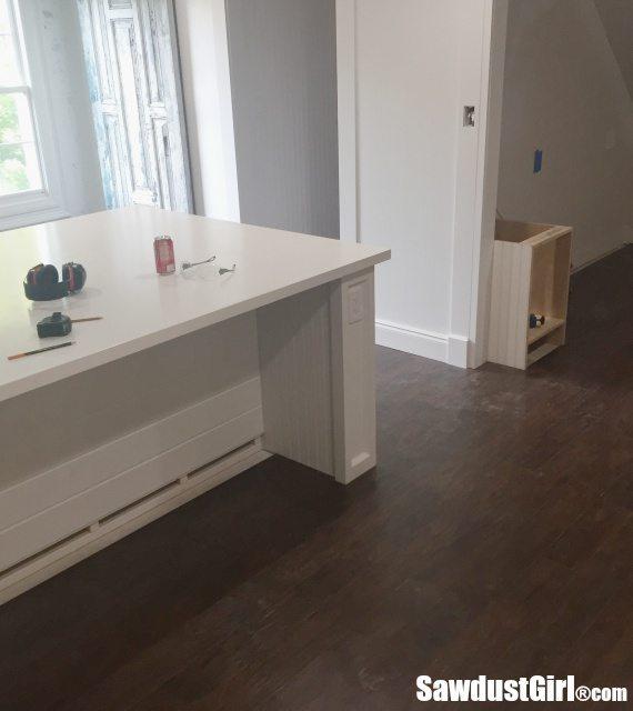 Pergo flooring installed