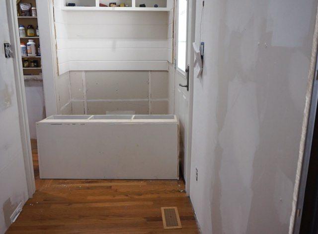 Kitchen Entry Makeover - Demolition