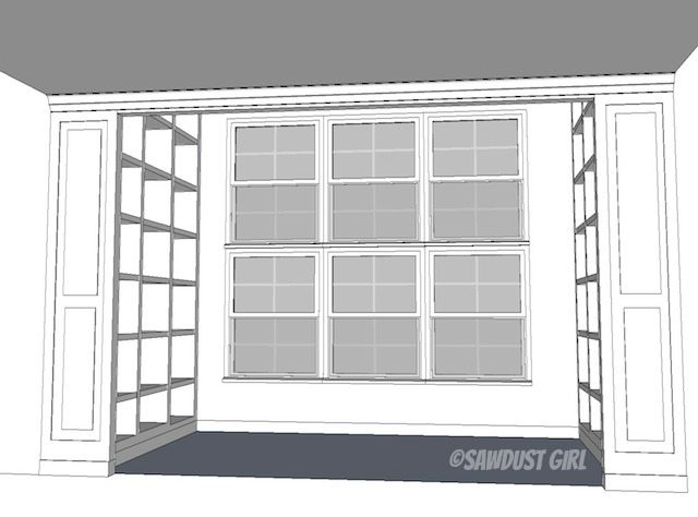 Fawn's library design plan