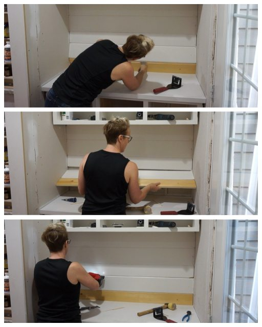Turning Cabinets into a Hutch