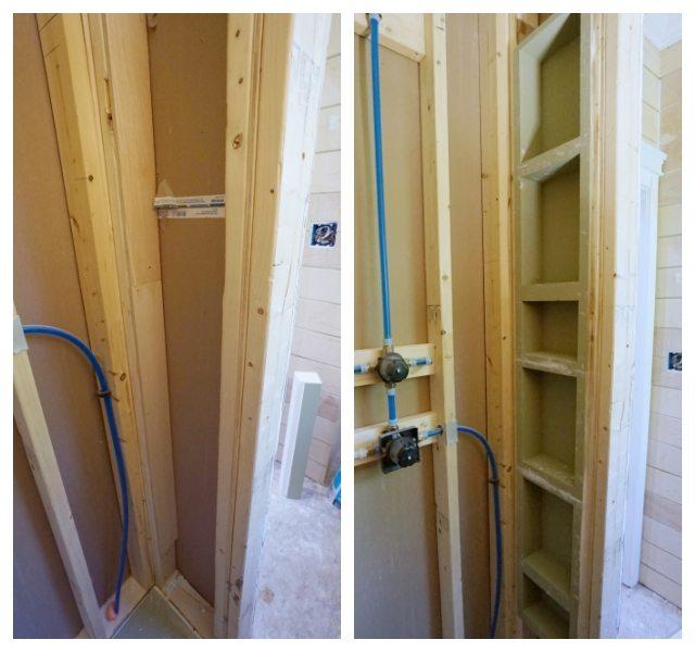 Waterproof Shower Wall Board Installation