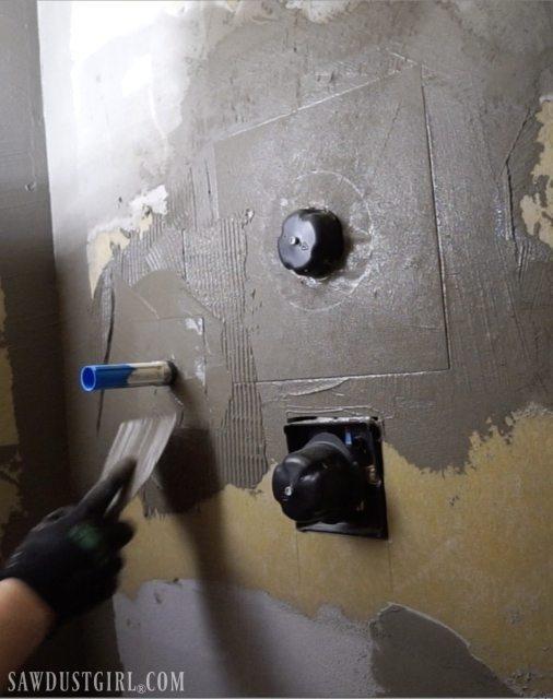 Waterproof Bathroom Wall Panels: Waterproof Shower Wall Board Installation