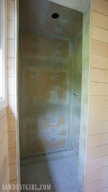 waterproof shower wall board