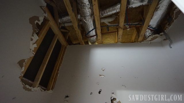 Sewer Pipe Failure in the powder room results in the basement