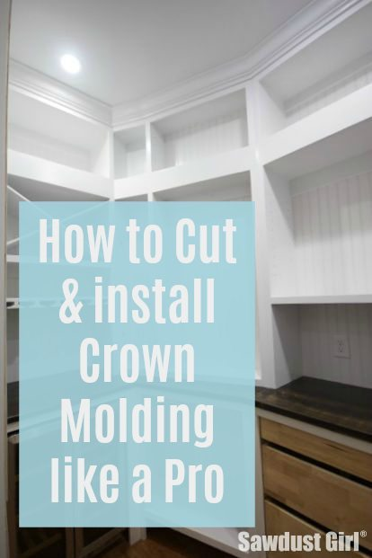 Cut crown molding and install like a pro with these quick and easy tips to add architectural interest and WOW to any room.