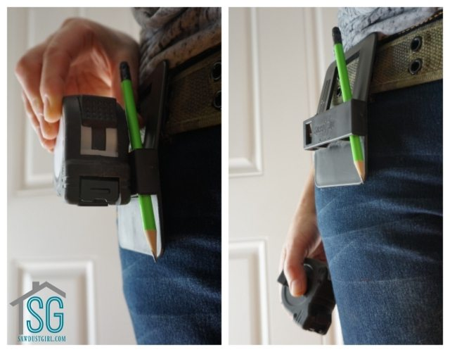 Speed Clip -Tape Measure Holder for easy access