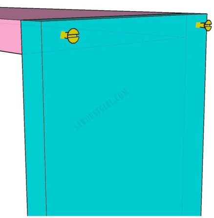 build an easy in wall cabinet