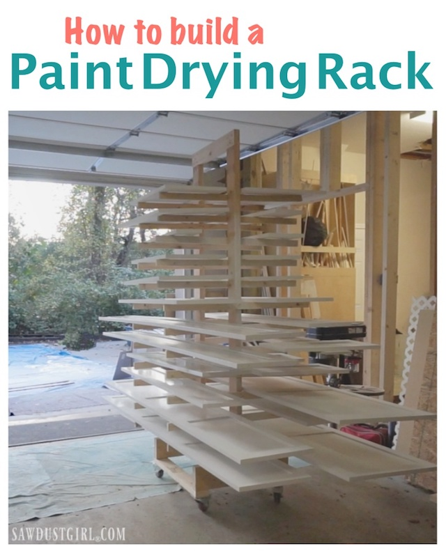 Paint Drying Rack for Cabinet Doors