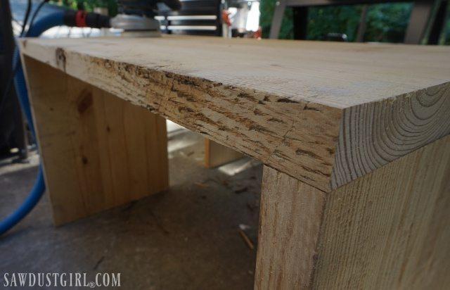 Rustic Pine diy tables