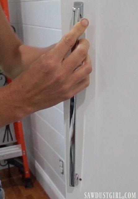 Installing Liberty hardware on closet doors