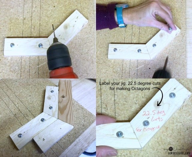 label jig for cuts and what shape it creates
