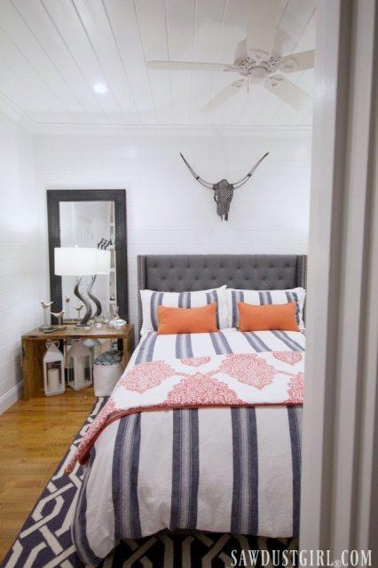 Guest bedroom design.