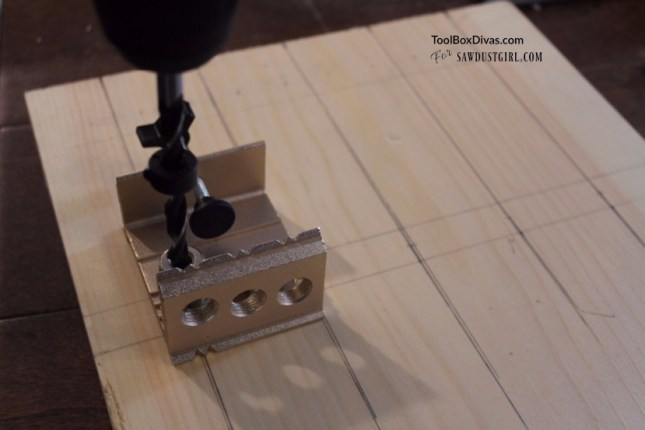 Using a Dowel jig