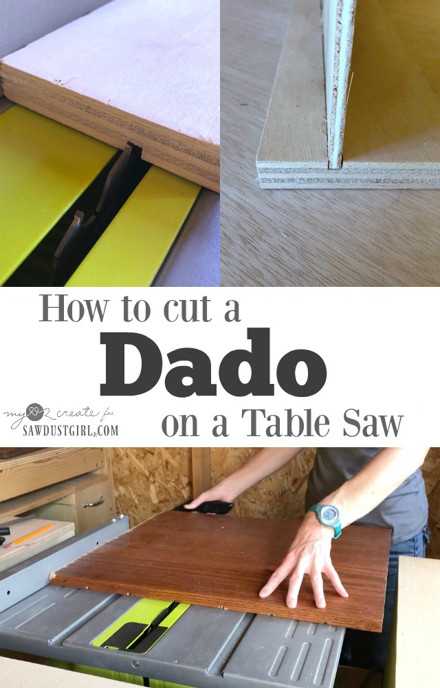 how to cut a dado on a table saw