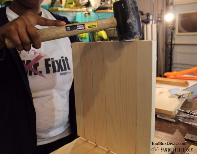 Working with wood dowels