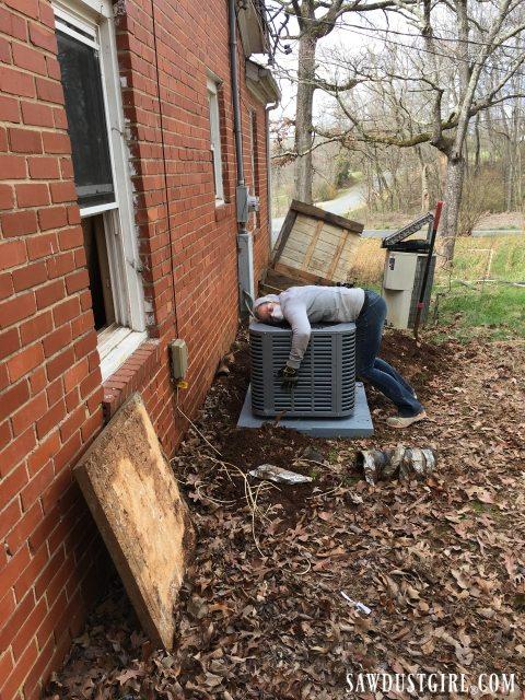 New HVAC system