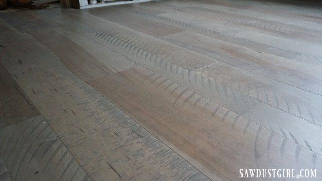 Rough sawn looking floors