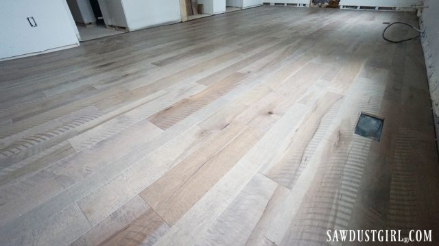 Armstrong Maple Engineered Hardwood in Gray Timber