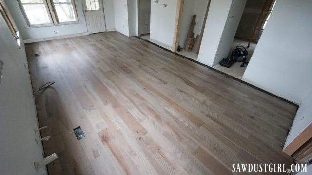 Calderwood Cottage floors
