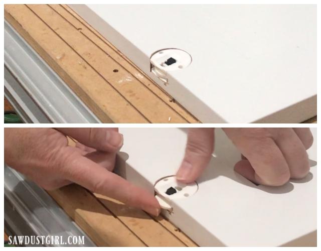 Adjustable glides for sliding cabinet doors