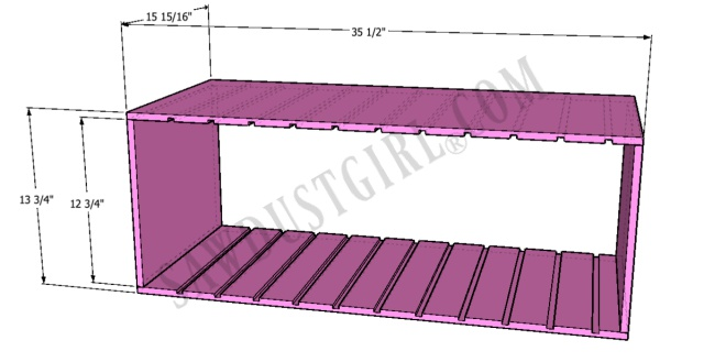 divider section for tool storage
