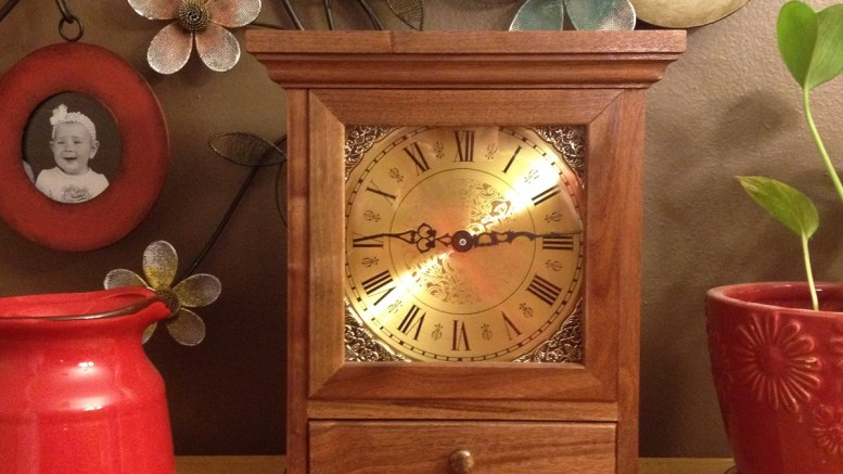 Get a great finish on your mantle or wall clock woodworking project